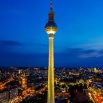 Blick auf dem Alexanderplatz Berlin
