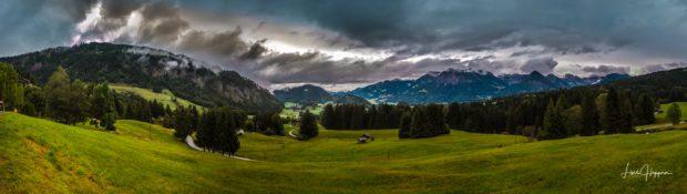 Dieses Alpen Panorama in Oberstdorf werden wir auch Panorama Fotoworkshop im Allgäu besuchen
