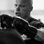 Fotoserie Boxkampf - Dem Gegener gegenüber stehen