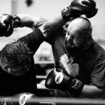Boxen Schwergewichtskampf