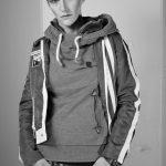 Monochromes Androgyn Portrait