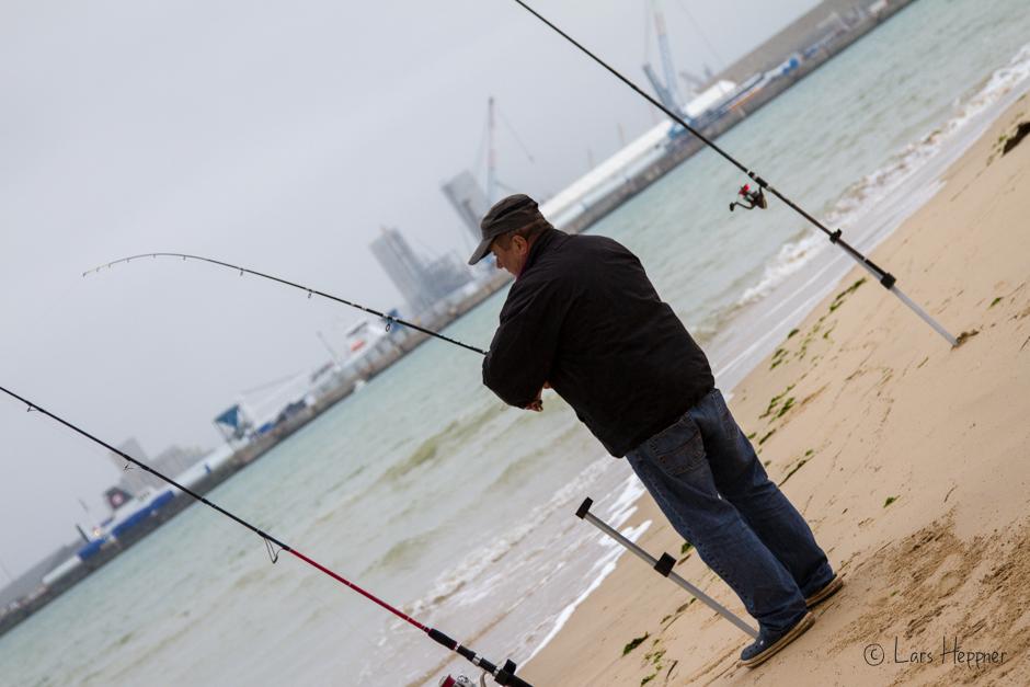 Angler an der Il de Re