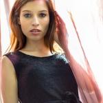 Lense Flare Portrait - Model Anna