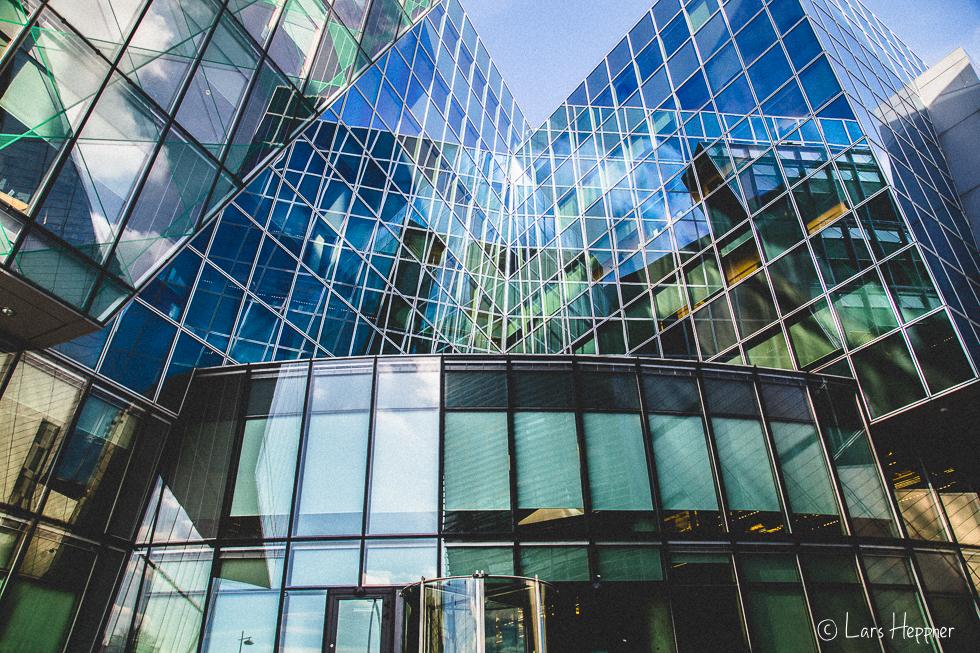 Architekturfotografie Dublin: Architektur Spiegelungen
