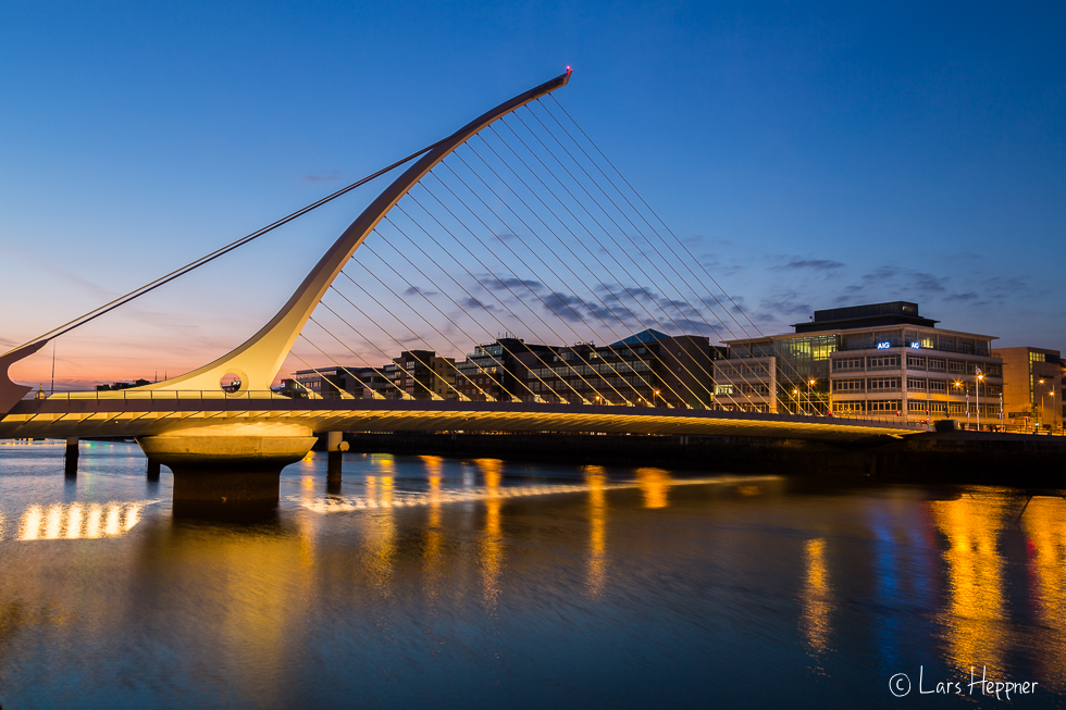 Architekturfotografie Dublin: Samuel Beckett Bridge