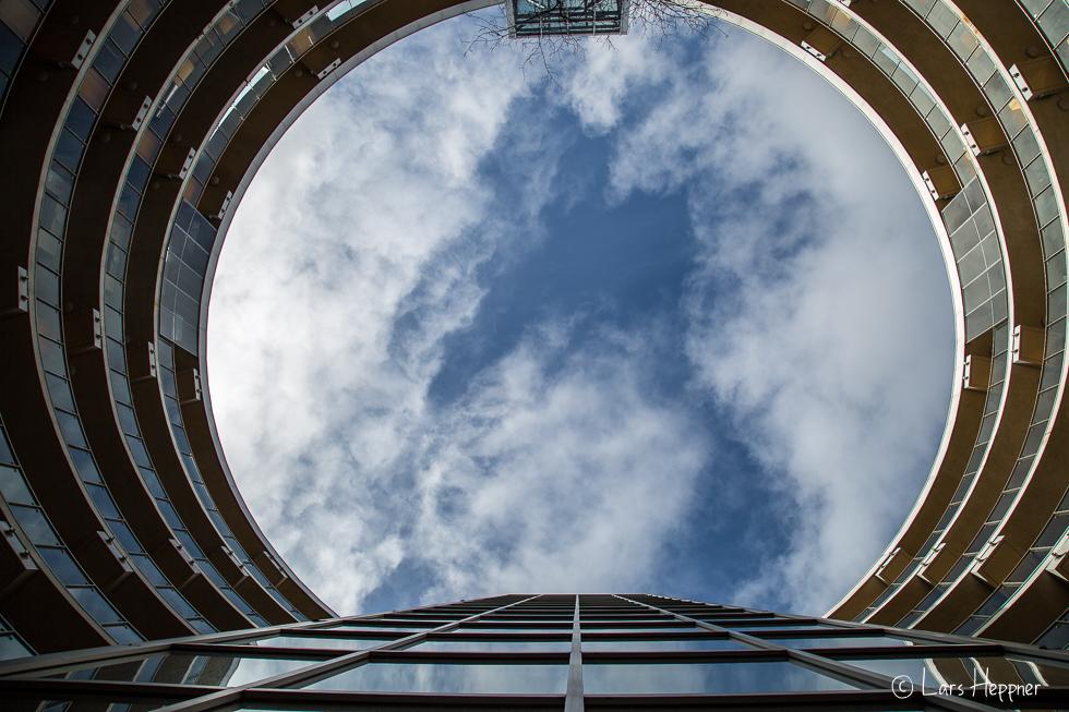 Architekturfotografie Dublin: Skywalk