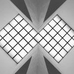 Architektur-Fotografie: Decke in der Museums Insel Hombroich