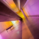 Architektur Fotografie in der Raketenstation - Farben & Linien