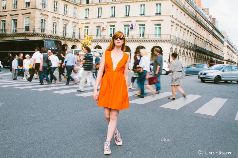 Rue de Rivoli - Fashion-Fotografie in den Straßen von Paris