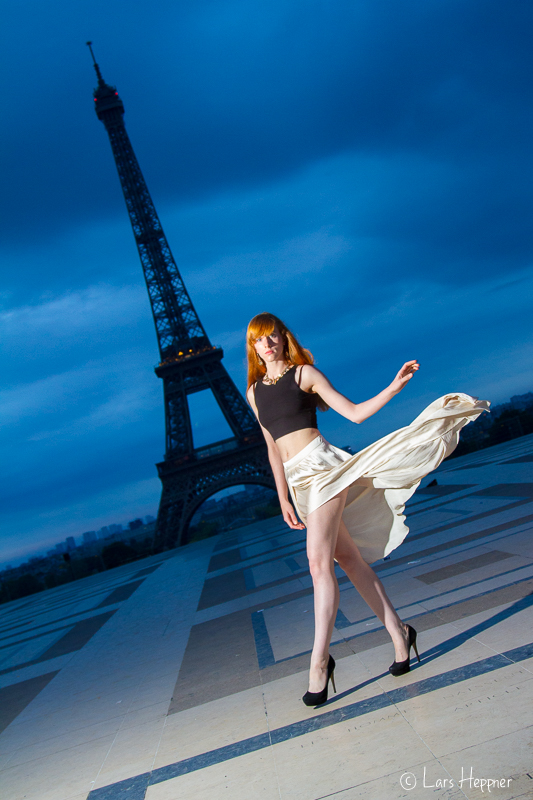 Ari Campari: Fashion Shooting am Eifelturm