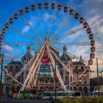 Riesenrad am Bahnhof und Zoo Antwerpen