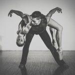 Skulptur: Balletttänzer vom Dortmunder Theater