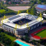 BVB Stadion tiltshifted