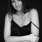 Bernadette Kaspar (schwarz weiß foto)