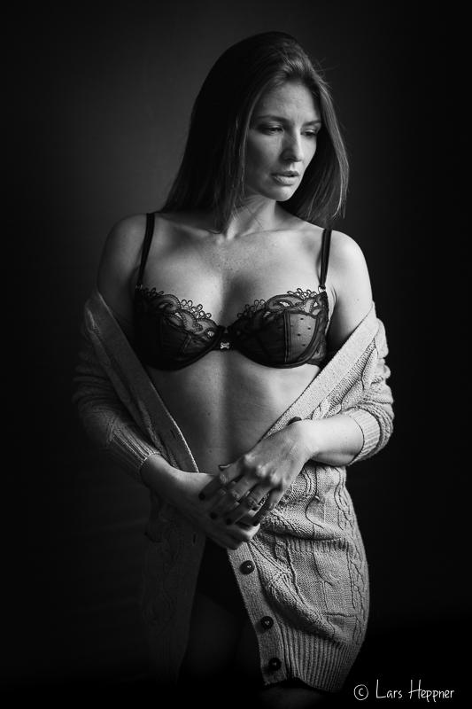 Auszug aus dem Shooting Playmate Bernadette Kaspar