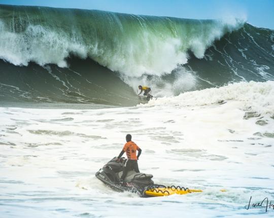 Die Big Waves von Nazaré –<br/>Eindrücke vom Surfcup