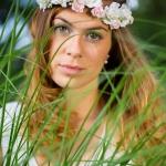 Blumenmädchen Shooting mit Laura