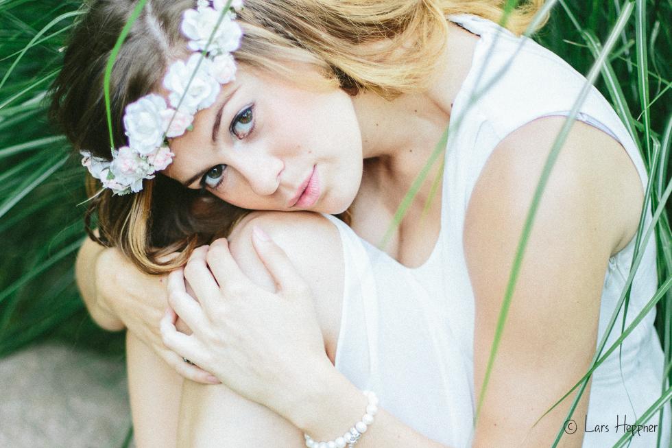 Blumenmädchen: Fotoserie vom Shooting mit Laura