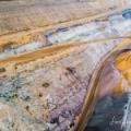 Braunkohle Tagebau Garzweiler &#8211; <br/>Farben, Linien und Strukturen der Erde