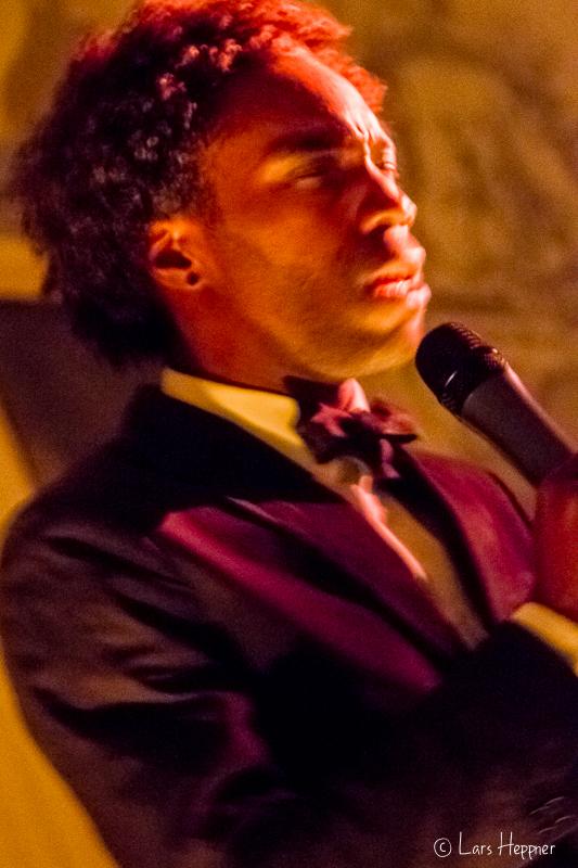 Sänger im Duane Park - New York