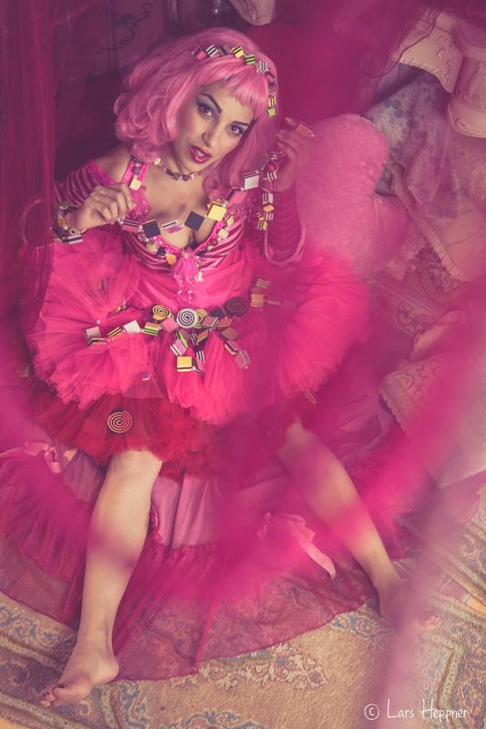 Candygirl in der Puppenstube
