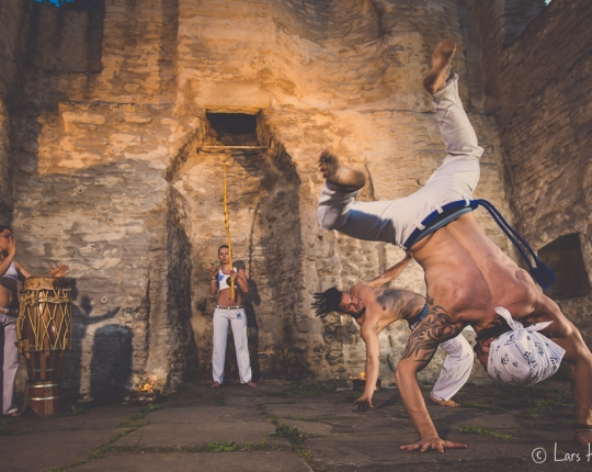 Capoeira on Fire