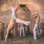 Foto-Shooting: Capoeira-Kampf