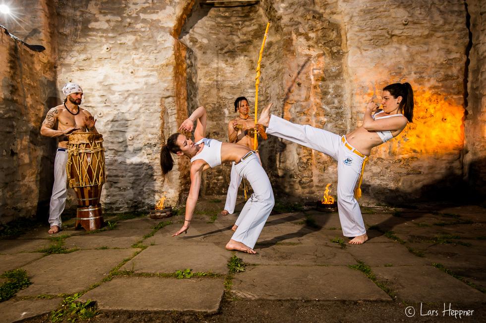Capoeira-Kämpferinnen