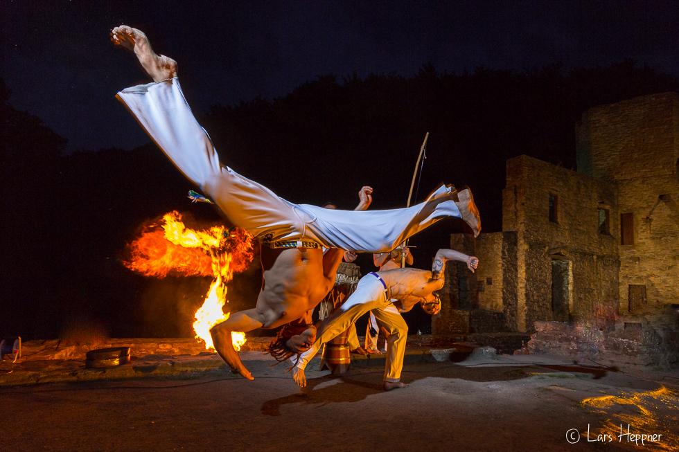 Capoeira on Fire
