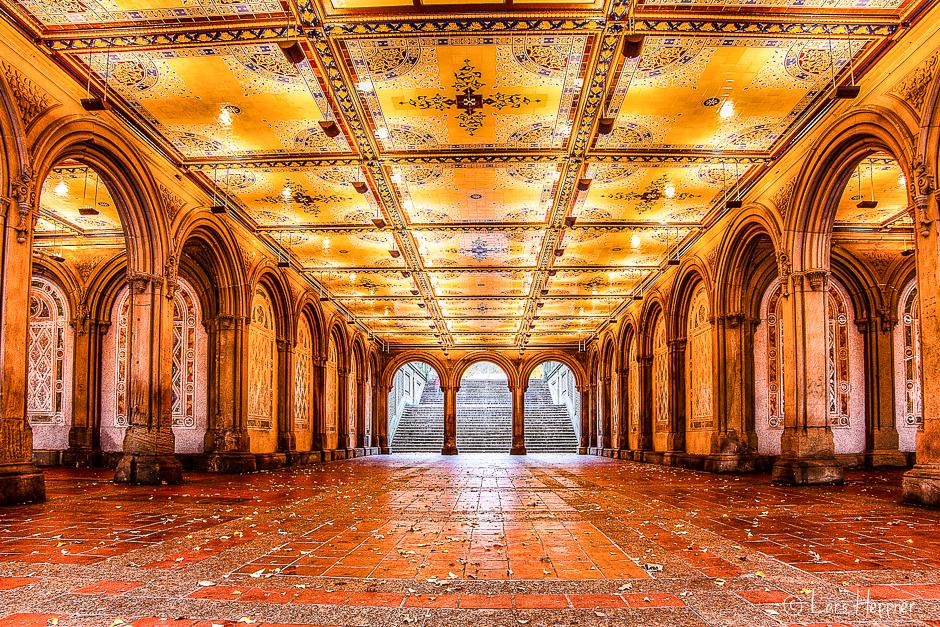 Halle im Central Park als DRI