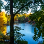 Indian Summer Feeling im Central Park in New York