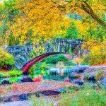 Brücke am Central Park als DRI