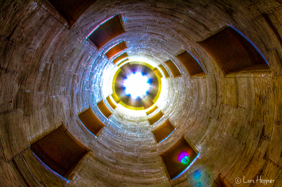 Treppenaufgang im Schloss Chambord