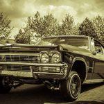 Chevrolet Oldtimer in Sepia