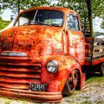 US Oldtimer Chevrolet als DRI-Foto
