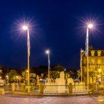 Panoramabild Deauville - Marktplatz
