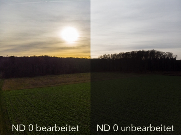 Drohnenfilter ND 0 Vergleich
