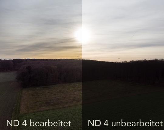 Testbericht: ND Filter für DJI Mavic Air Drohne (DJI Filter)