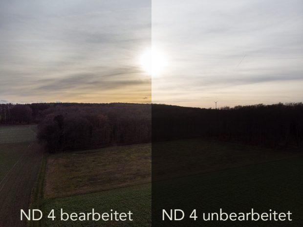 Drohnenfilter ND 4 Vergleich
