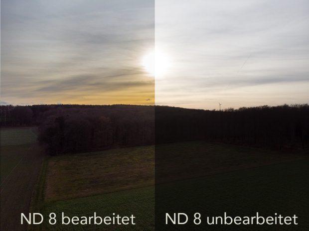 Drohnenfilter ND 8 Vergleich