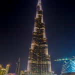 Eine tolle Belichtung am Burj Khalifa