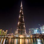 Langzeitbelichtung Dubai: Burj Khalifa