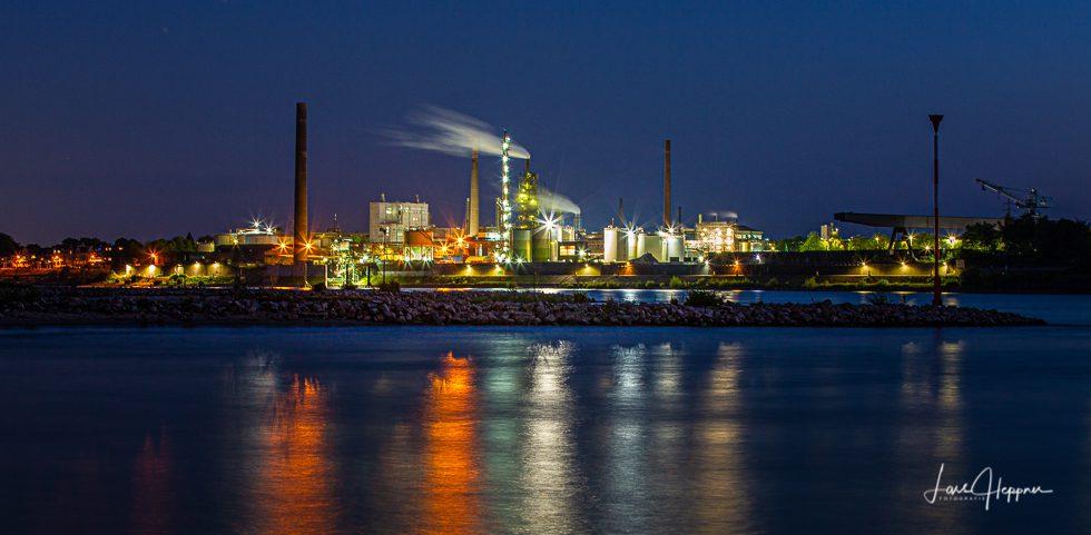 Duisburg Rhein Industrie