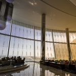 Die Lobby im Ethiad Tower Hotel