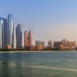 Die Ethiad Towers gehören zum typischen Abu Dhabi Stadtbild