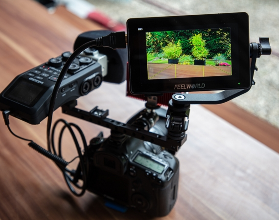 Filmen mit der DSLR Canon 5D Mark III