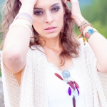 Hippie Shooting mit Frieda Zimstern