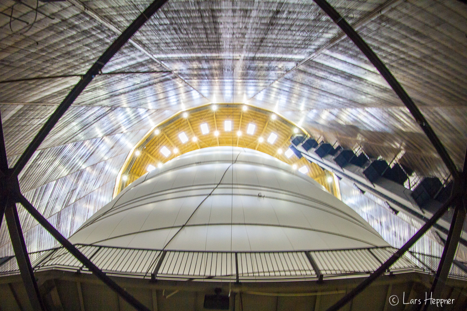 Christo: Big Air Package im Gasometer Oberhausen