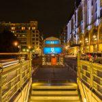 Ein HDR der U-Bahnstation am Gendarmenmarkt 02