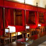 Betten im Hôtel-Dieu in Beaune